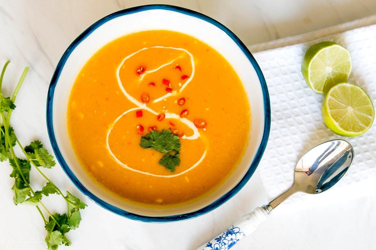Supa Thai de dovleac