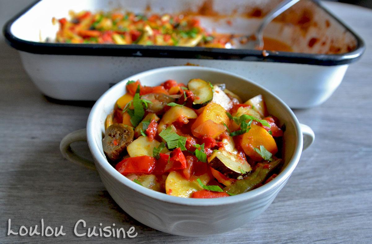 Ghiveci cu legume de vara