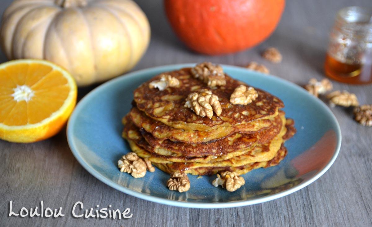 Pancakes cu dovleac copt – cu sau fara lactoza sau gluten