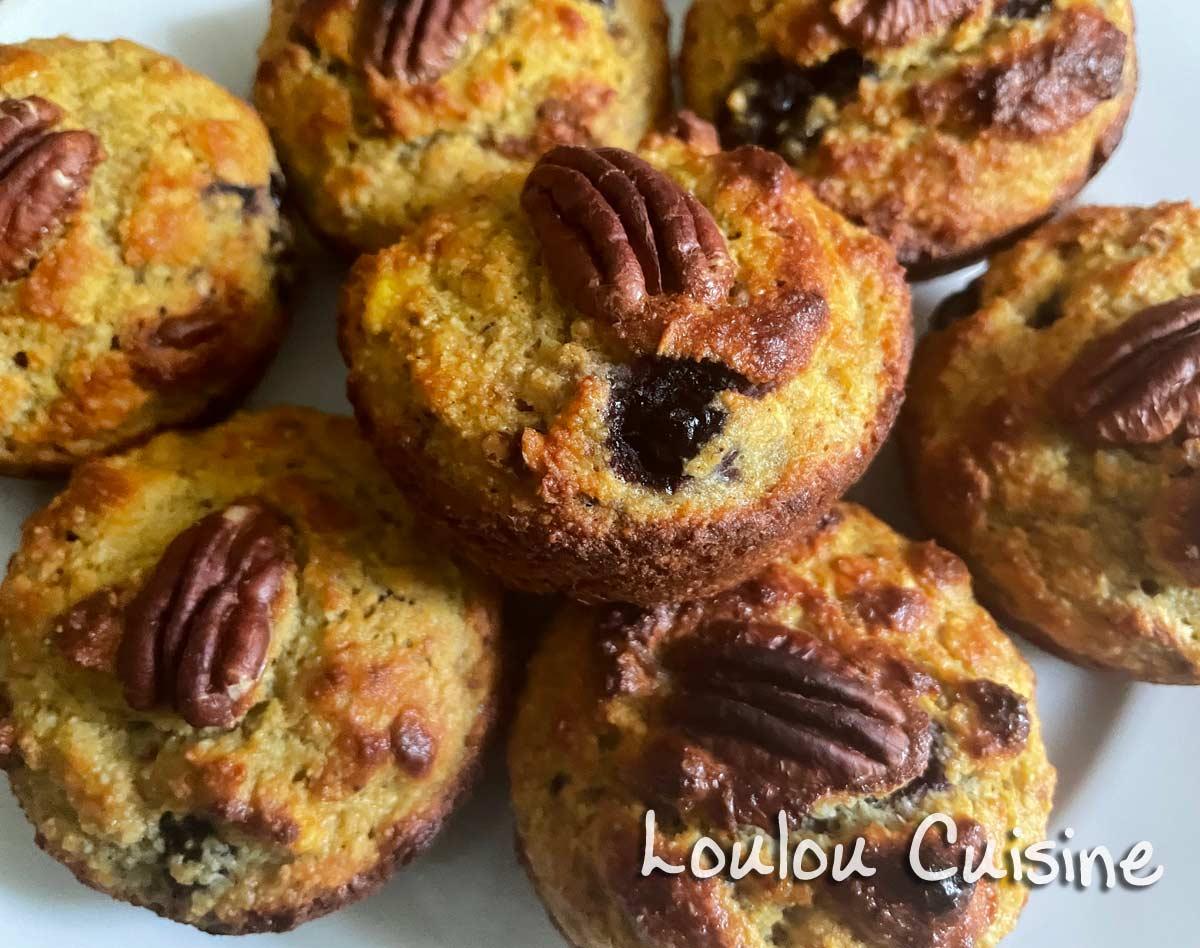 Muffins cu banane plantain – fara zahar, fara gluten, fara lactoza